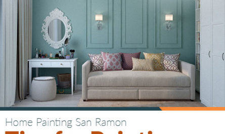 Home Painting San Ramon – Tips for Painting a Small Room